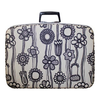 1960s Samsonite Floral Pop Luggage