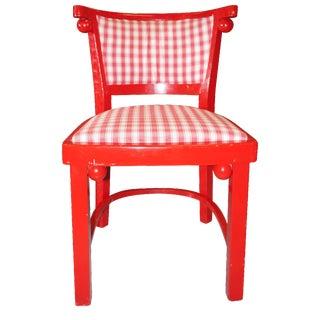 Josef Hoffman Fledermaus-Style Chairs - Set of 6