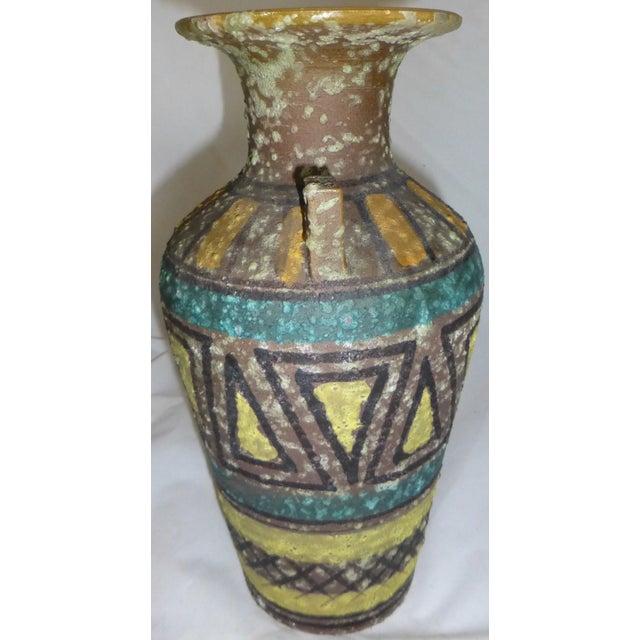 Mid Century Gambone Style Italian Vase - Image 3 of 9