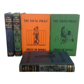 Mid-Century Children's Book Collection - Set of 5