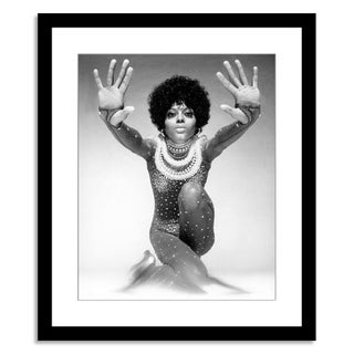 """Diana Ross,"" Photograph by Harry Langdon"