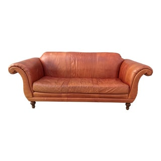 Anthroplogie Cotswald Leather Sofa