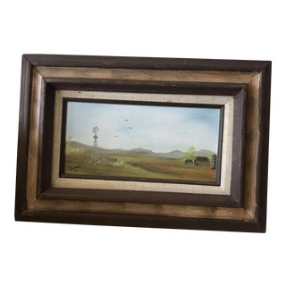 """""""Midwest"""" Original Oil Painting"""