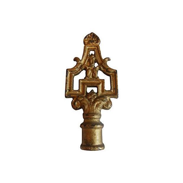 Art Deco Cast Vintage Lamp Finial - Image 1 of 3