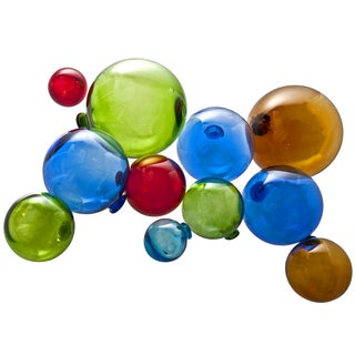 Assorted Glass Fishing Floats - Set of 11