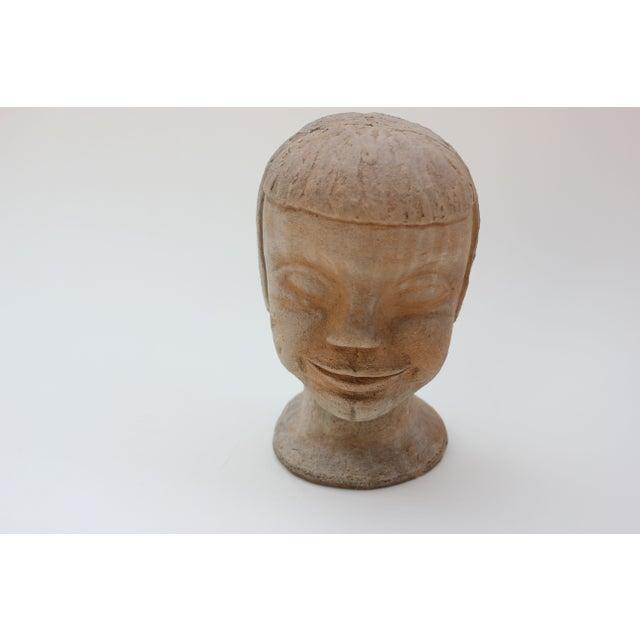 Vintage Studio Pottery Head Bust - Image 3 of 8