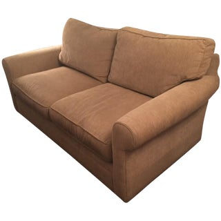 Crate & Barrel Tan Pull Out Couch
