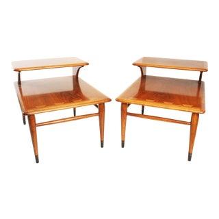 Mid-Century Acclaim Step Tables - A Pair