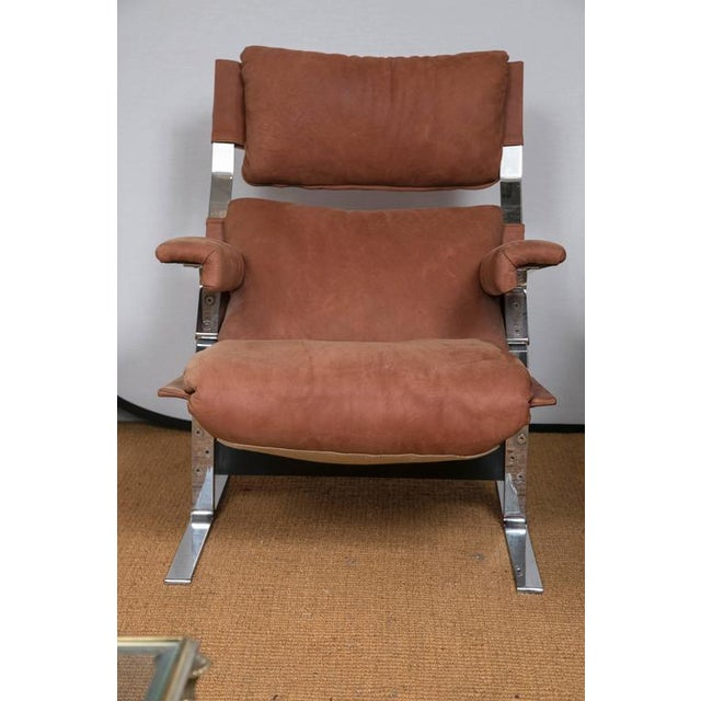Richard Hersberger for Pace Lounge Chair & Ottoman - Image 6 of 9