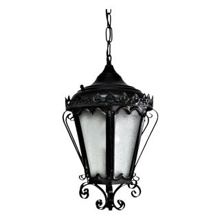 Black Spanish Colonial Lantern