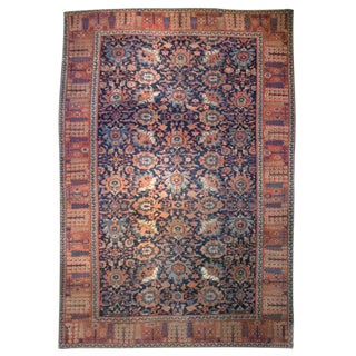 19th Century Persian Sultanabad Carpet