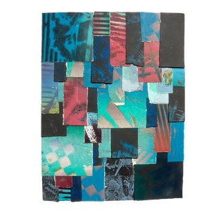 Desert Glow Tapestry Collage