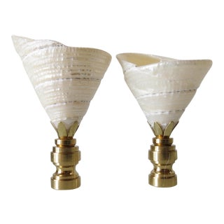 Fiji Shell Finials - Pair