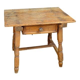 19th Century Spanish Pine Table
