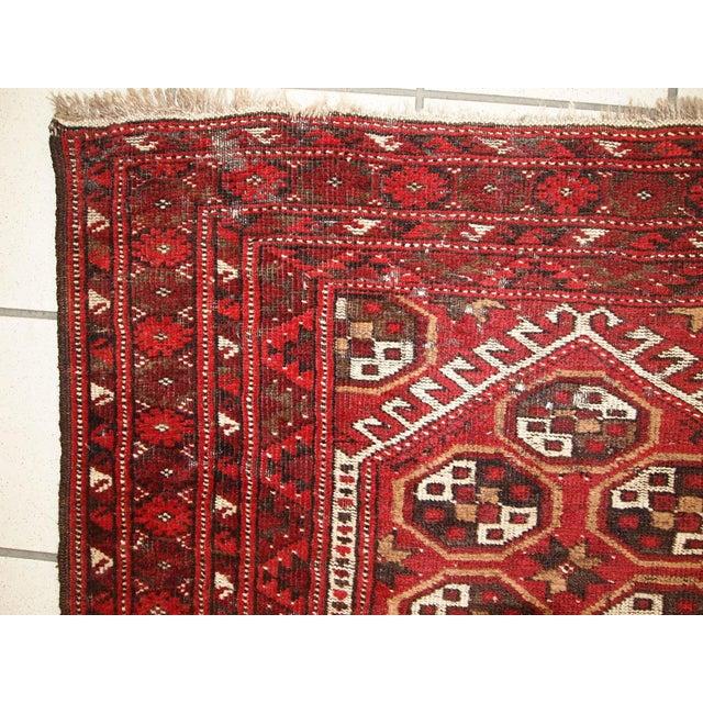 1920s Antique Afghan Adraskand Hand Made Prayer Rug