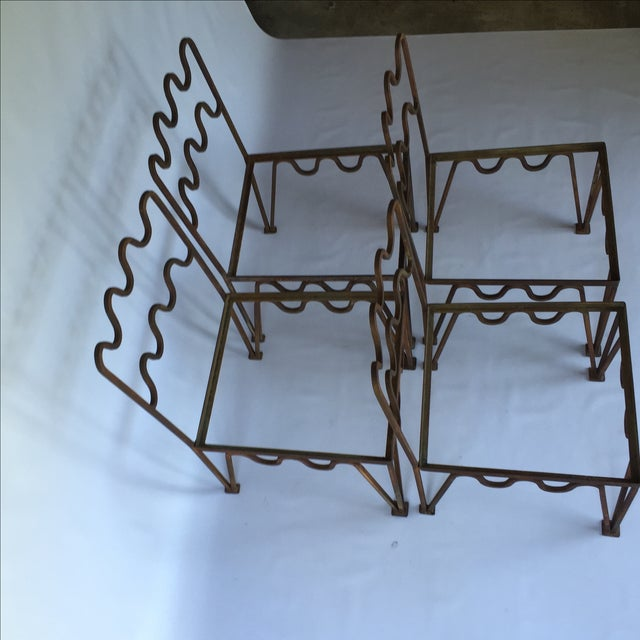 Image of 1940s Sculptural Modernist Iron Patio Chairs - 4