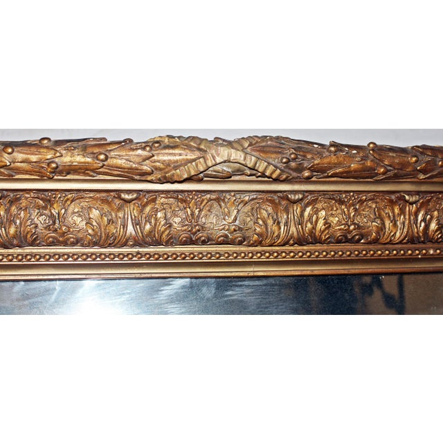 Antique Gilt Gesso Mirror - Image 7 of 7