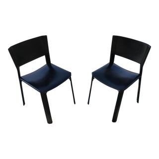 Post Modern Italian Side Chairs - A Pair