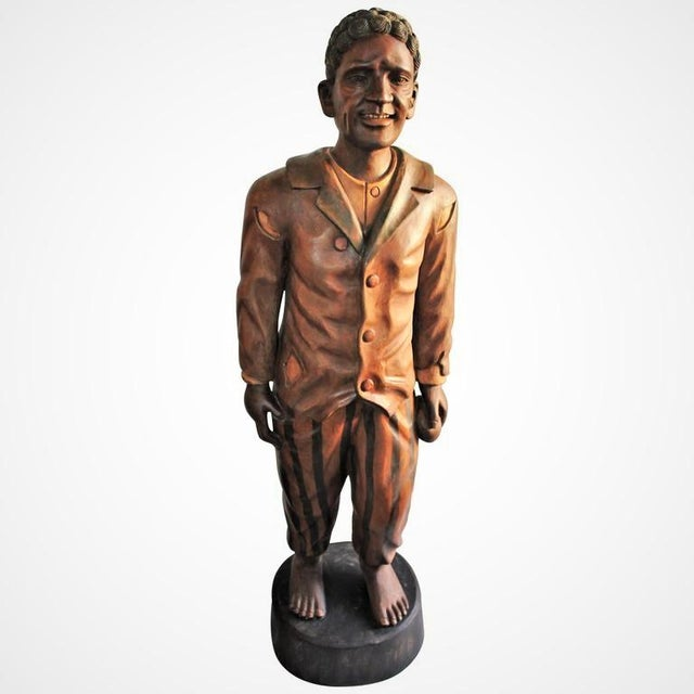 Hand-Carved and Painted 19th Century Cigar Store Figure - Image 2 of 10