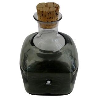 Vintage Swedish Glass Bottle