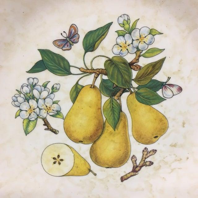 Italian Tre Ci Fruit Plates - Set of 6 - Image 8 of 11