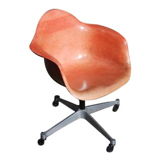 Vintage Distressed Eames Fiberglass Chair