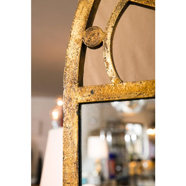 Gilt Encrusted Iron Arch Mirror - Image 5 of 5