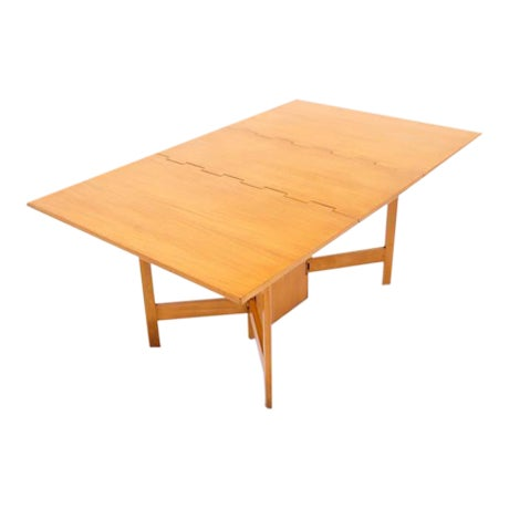 Image of George Nelson for Herman Miller Gate Leg Dining Table Excellent