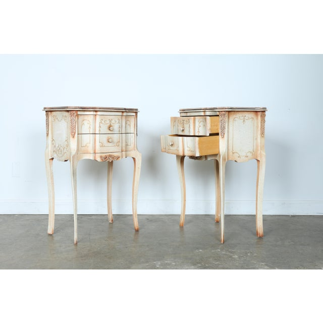 French Style Nightstands - A Pair - Image 2 of 11