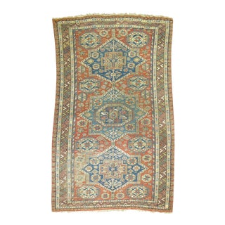 Antique Soumac Rug - 5'11'' x 9'1''