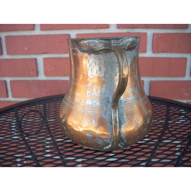 Vintage Copper Plated Jug - Image 3 of 4