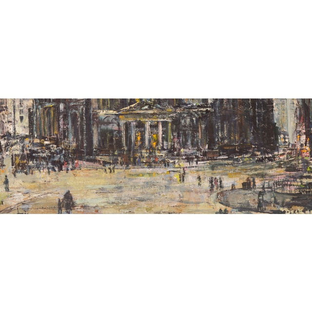 Edwin Becker Paris Opera Impressionist Painting - Image 4 of 9