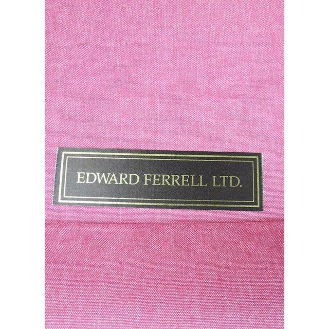 Edward Ferrill LTD Pink Armless Chair - Image 5 of 5