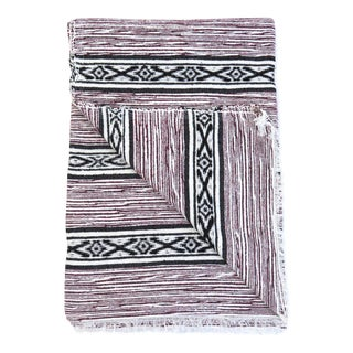 Moroccan Cotton Throw Blanket