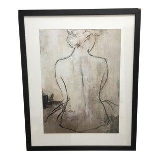 Female Black & White Sketch