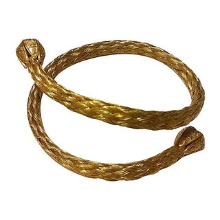 Braided Mesh Gold Filled Bracelet
