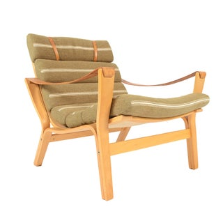Knud Faerch Bolman Lounge Chair for Källemo