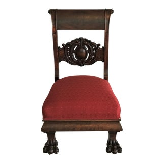 Empire Low Chair Ca. 1820