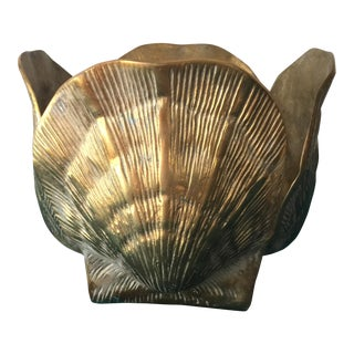 Brass Shell Bowl