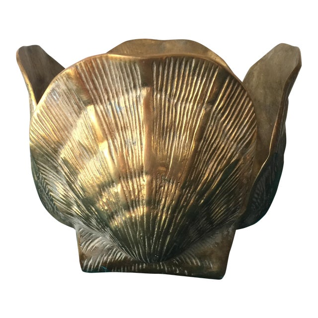 Brass Shell Bowl - Image 1 of 7
