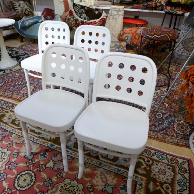 Bentwood & Ply Seat Dining Chairs - Set of 4 - Image 2 of 6