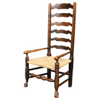 Georgian Ladder Back Country Armchair
