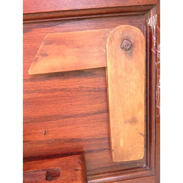 Antique Tools in Reclaimed Wood Shadowbox - Image 8 of 10