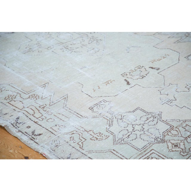 "Distressed Oushak Rug - 4'8"" X 7'5"" - Image 3 of 10"