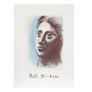 Pablo Picasso Portrait De Femme a Trois Lithograph