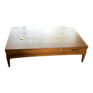 Lane Mid-Century Coffee Table With Drawer