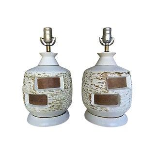 Mid-Century Danish Lamps - A Pair