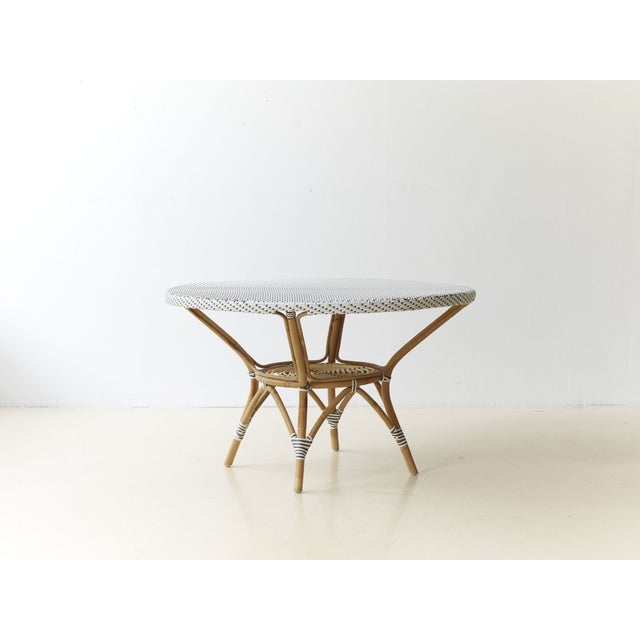 Image of Grange Danielle White & Cappucino Dining Table