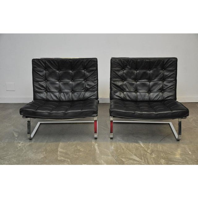 Mies Van Der Rohe Tugendhat Lounge Chairs for Knoll - Image 7 of 9