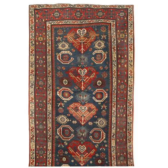 Image of Antique Caucasian Shirvan Carpet